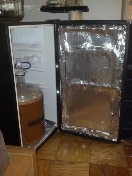 Mini Fridge Fermentation Chamber Homebrewtalk Com Beer