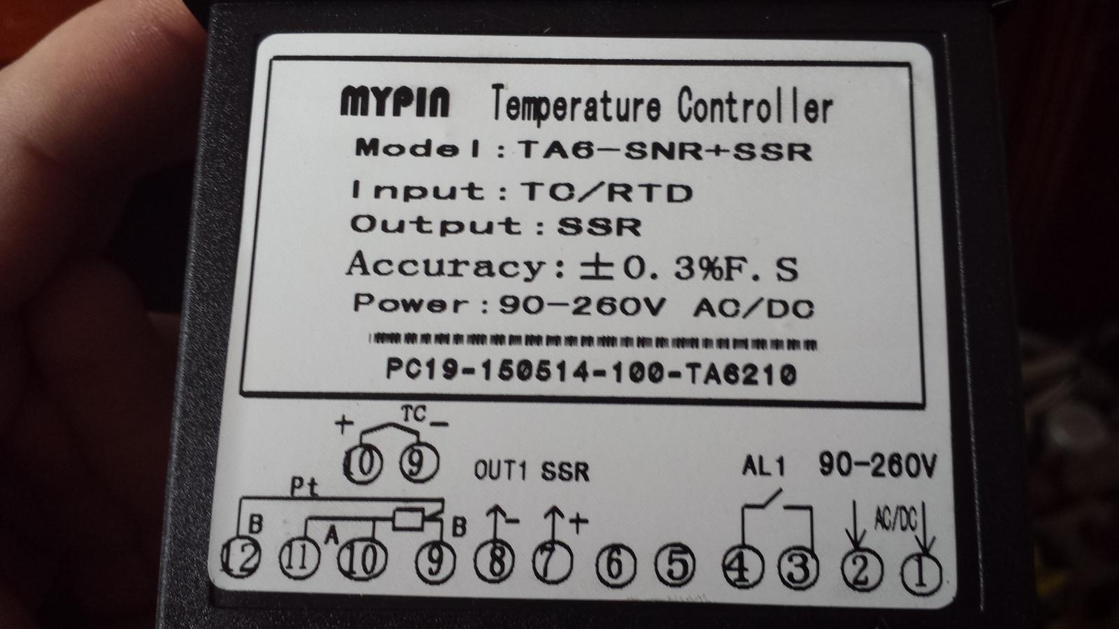 Mypin Ta6 Pid Controller Settings Wiring Help Ssr Diagram For Fan On 20151018 111021