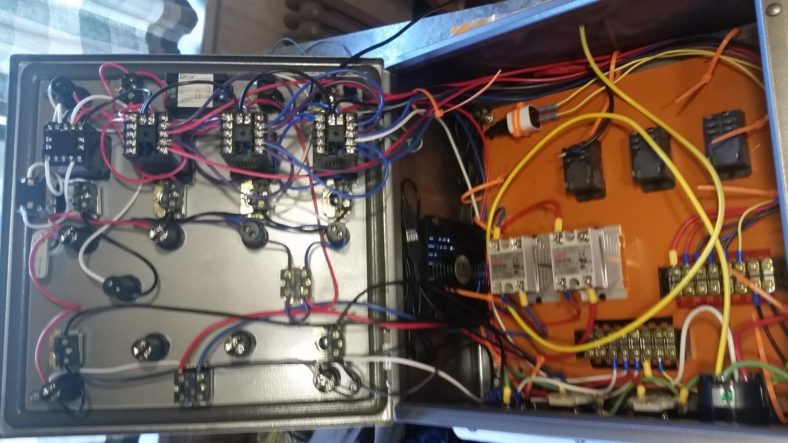Huge E Herms Build 3 Keggles Control Panel Stir Plate Ferm Wiring Diagram Aandc Contactor 20160421 124406