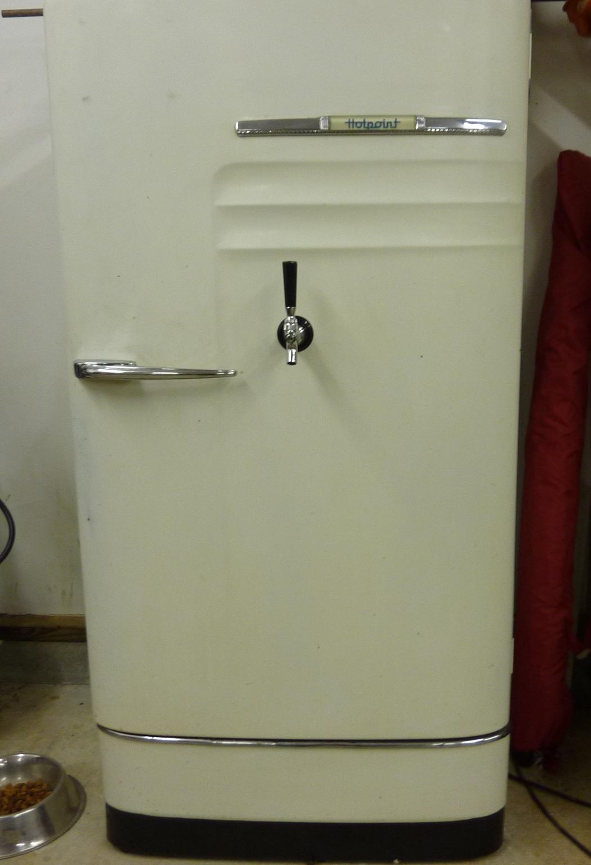 1954 Philco Refrigerator To Kegerator Conversion