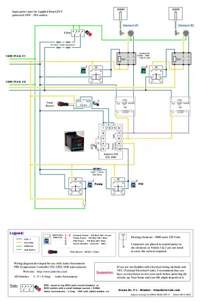 120v dual element wiring diagram home brew forums click image for larger version auberin wiring1 a4 2000w biab