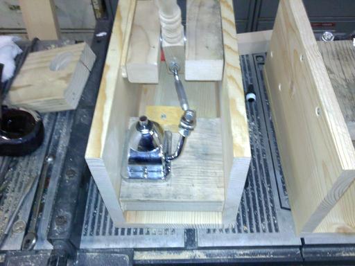Dual Beer Engine Keezer using Valterra Rocket hand pumps ...