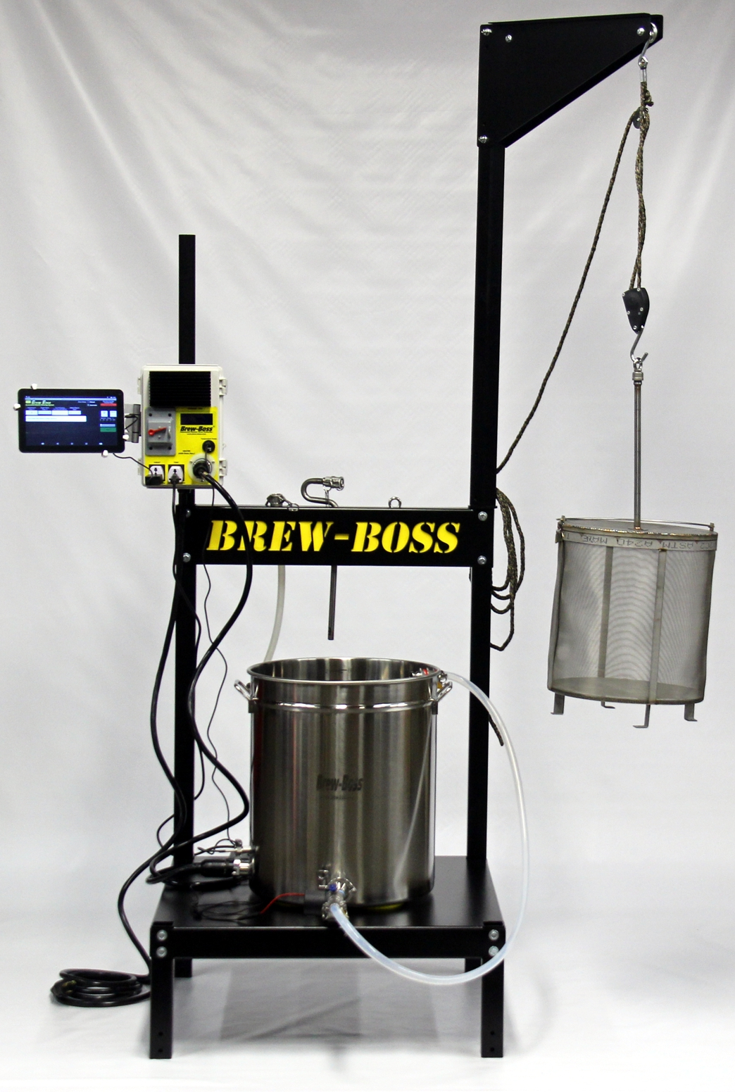 New Product Brew Boss Brew Stand With Integrated Boom
