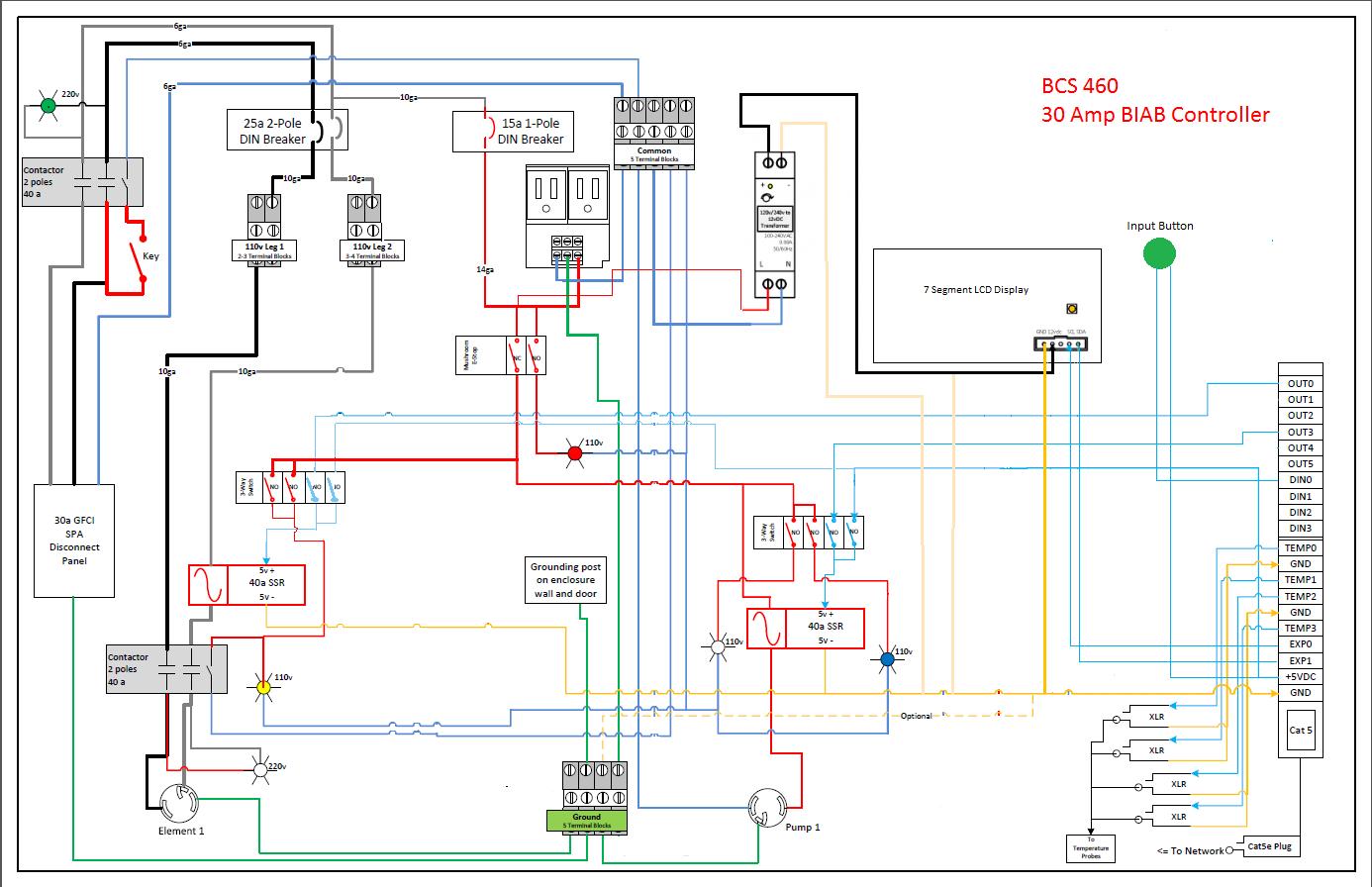 bcs 460 wiring diagram  | 1386 x 896
