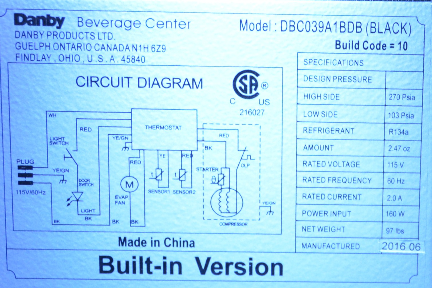 Danby wiring diagram new wiring diagram 2018 use of ups for beverage center homebrewtalk com beer wine flotec wiring diagram danby wine cooler wiring diagram stereo wiring diagram on danby wiring cheapraybanclubmaster Images
