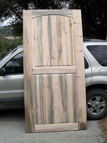 building a door