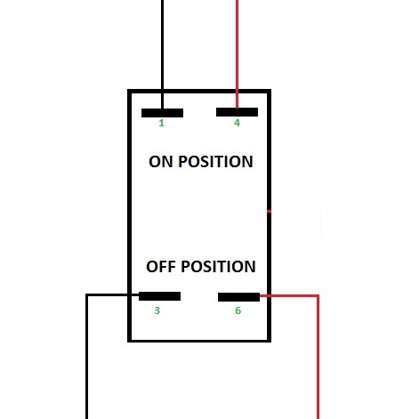 dpst switch wiring diagram wiring diagram on off dpdt wiring diagram automotive base