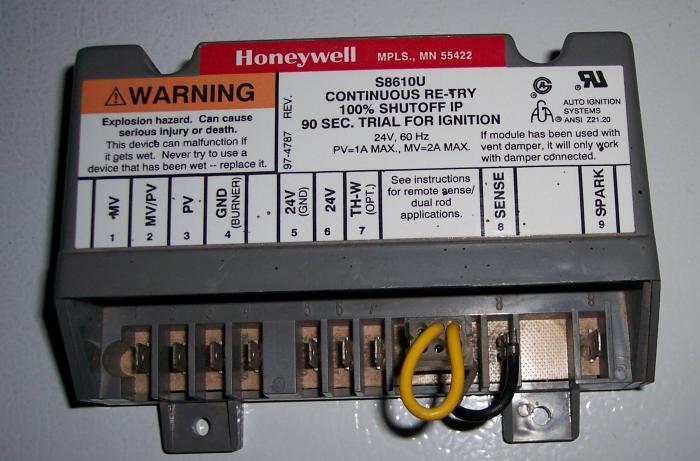 Gascontrolmodule 001: Honeywell S8610u Wiring Diagram At Jornalmilenio.com
