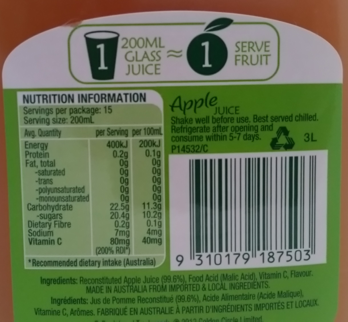 Cider using supermarket apple juice  | HomeBrewTalk com