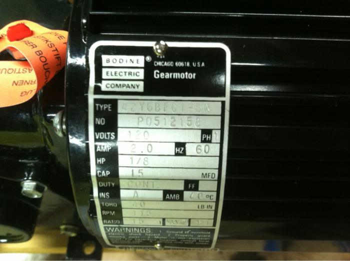 Bodine Gear Motor Wiring | HomeBrewTalk.com - Beer, Wine ... on