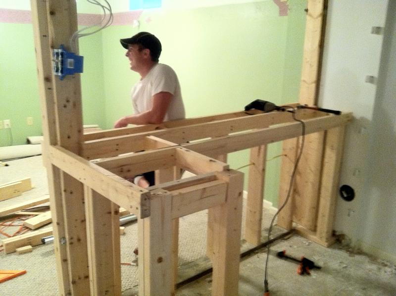 Basement Bar Build Unfinish to refinish Home Brew Forums