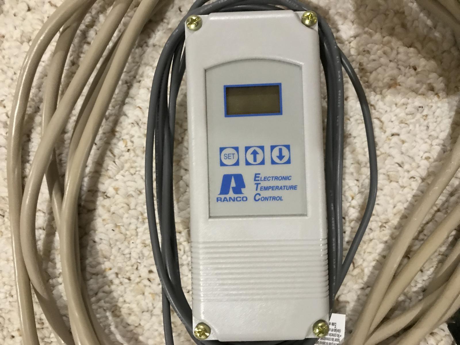 Michigan Ranco Digital Temp Controller Thermowell Heat Wrap Dual Stage Temperaturecontroller Img 0553