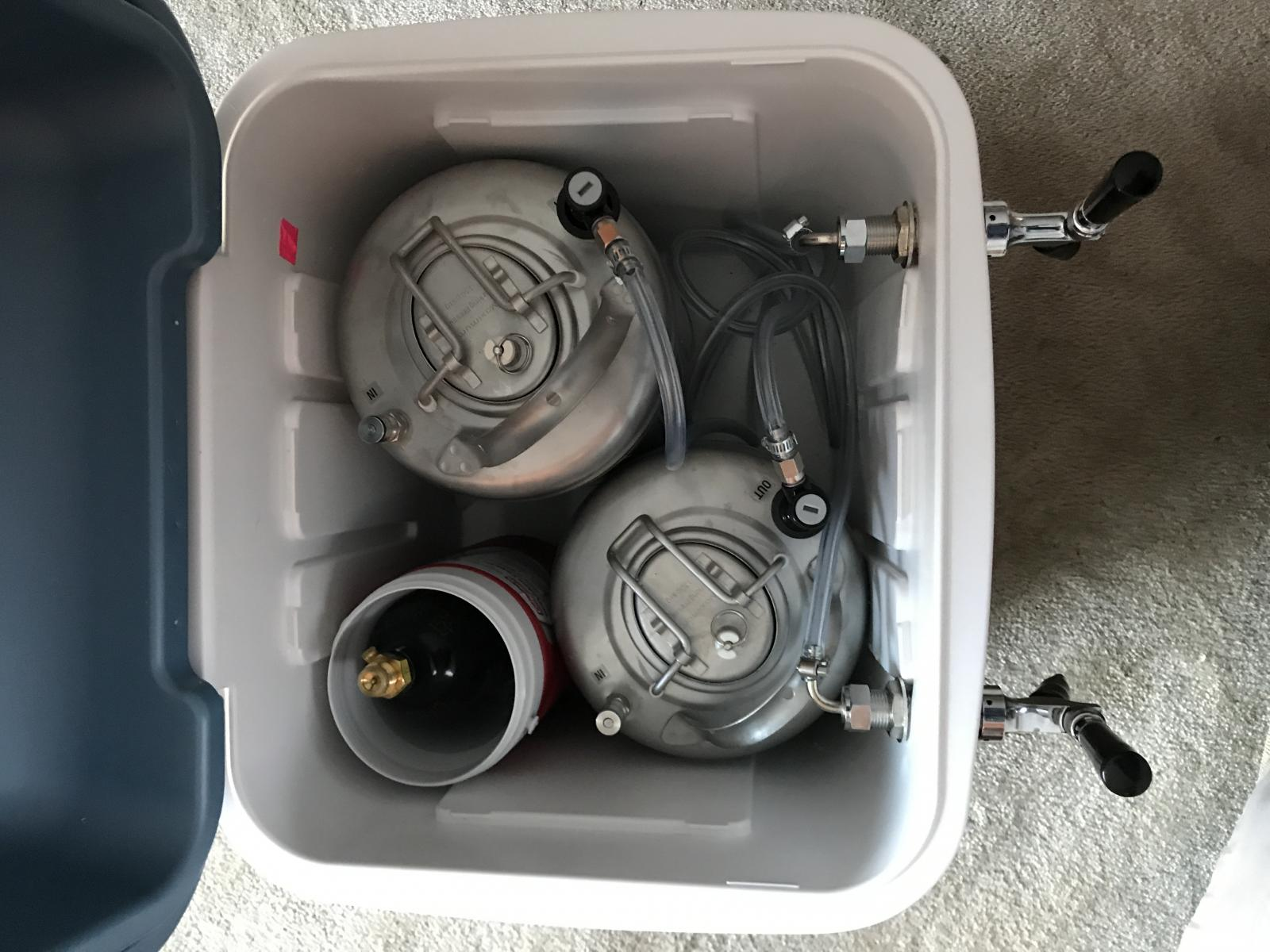 Portable igloo cooler kegerator | Page 13 | HomeBrewTalk com - Beer
