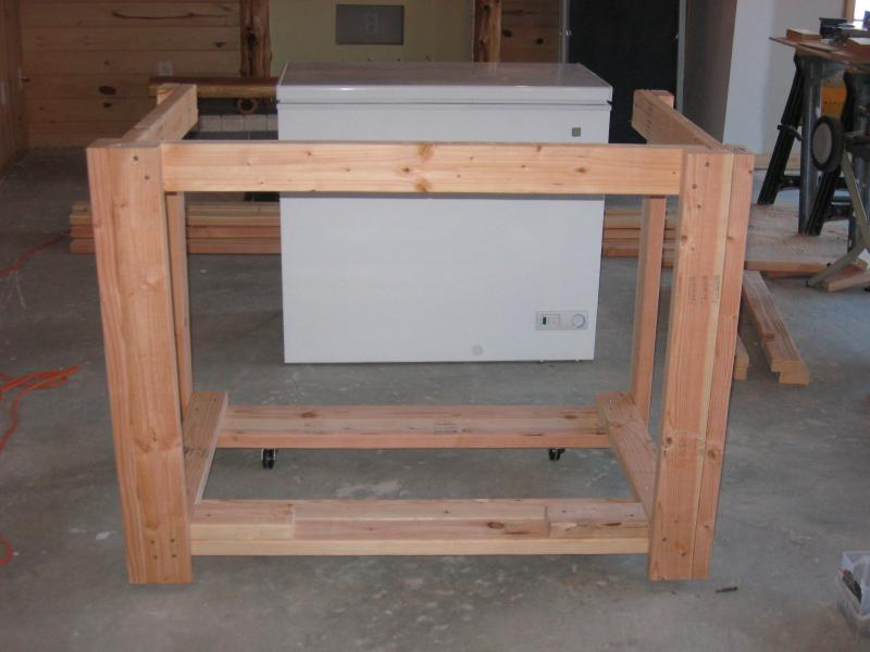 kitchen cabinets drawings knotty pine and cedar log keezer build homebrewtalk 20330