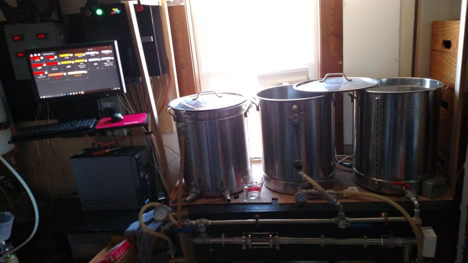 show me your brew room computer setup homebrewtalk com beer rh homebrewtalk com