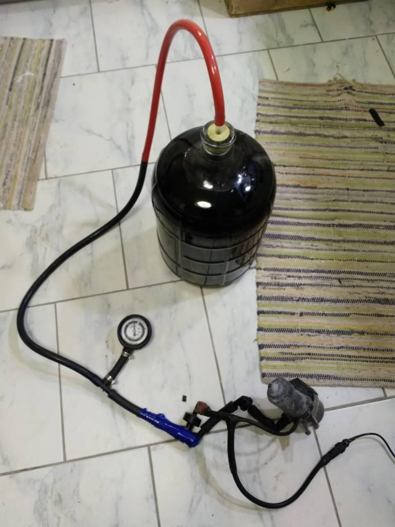 Cheap Easy Diy Degassing Vacuum Pump Homebrewtalk Com