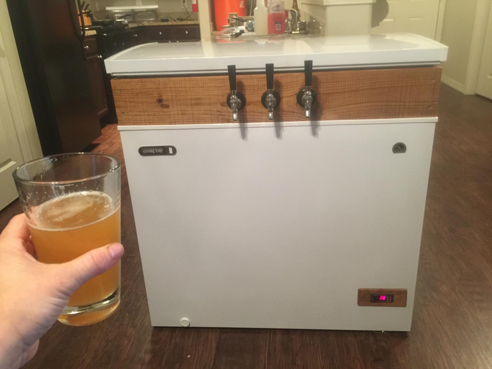 Igloo 71 Frf710 Kegerator Build Cost Pictures Homebrewtalk Keezer Temp Controller Using The Stc1000 Mostly Harmless Img 6902