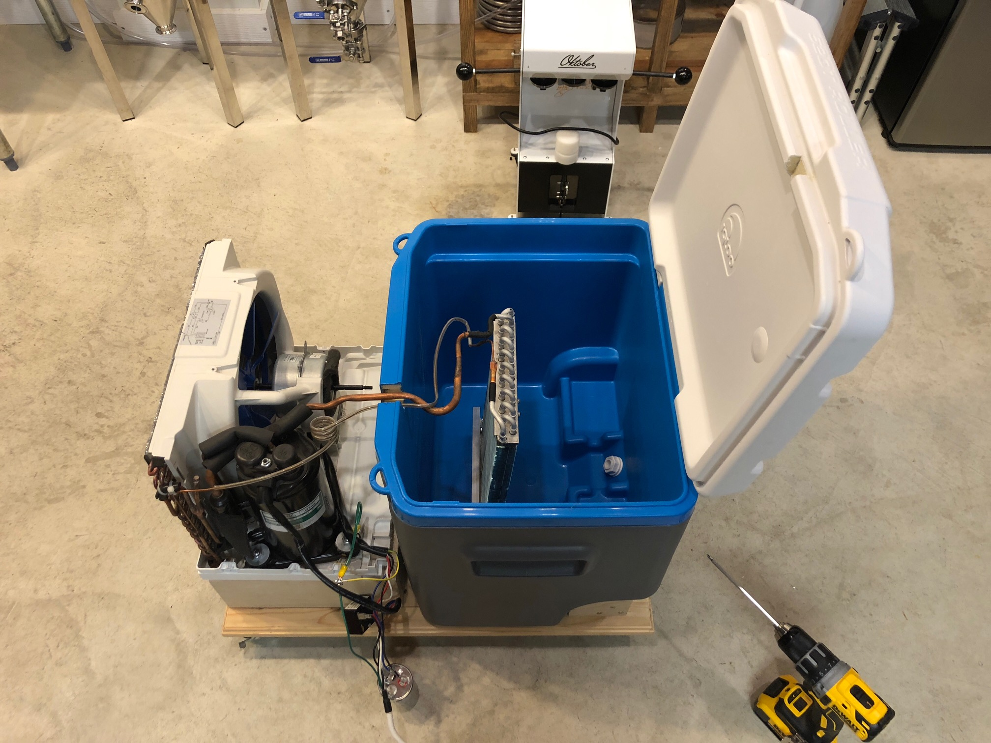 The Ole' Window AC - Glycol Chiller Build | HomeBrewTalk com - Beer