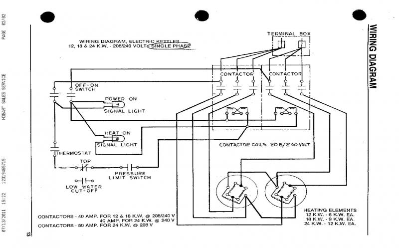 wiring diagram for electric kettle