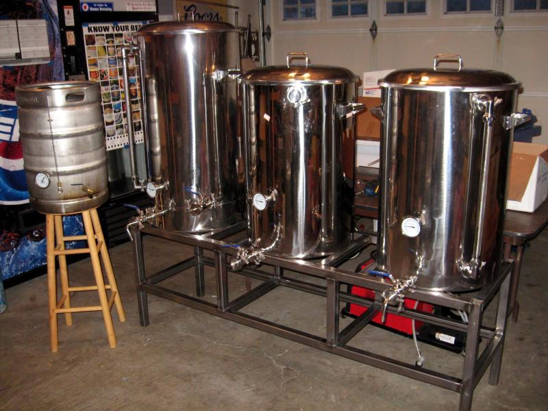 1 Bbl Brewery Build ( Brutus Inspired) - Home Brew Forums