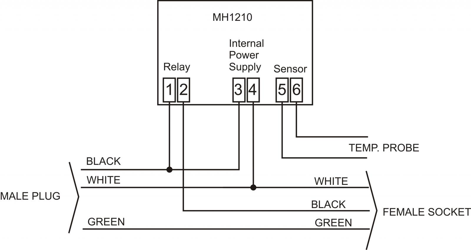 wiring help needed for mh1210f