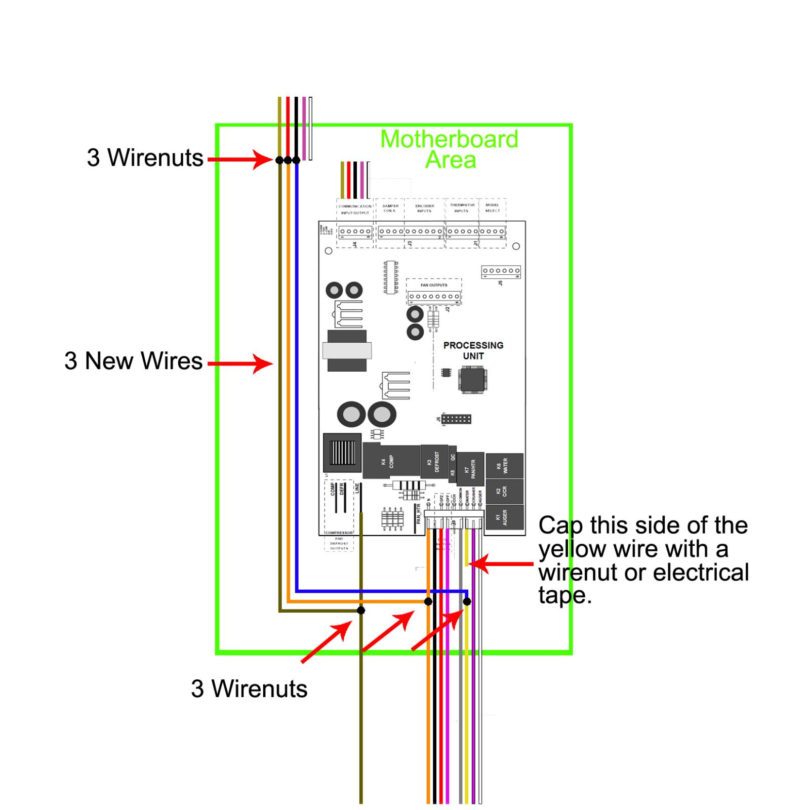 Wiring Help Please Side By Fermentation Kegerator Diagram As Well Stc 1000 On Desk Lamp Motherboard Area Connections Kgmac311