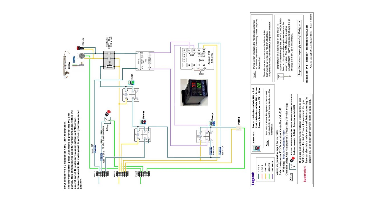 120v Pid Controller Wiring Diagram Auto Electrical For Heat Pds
