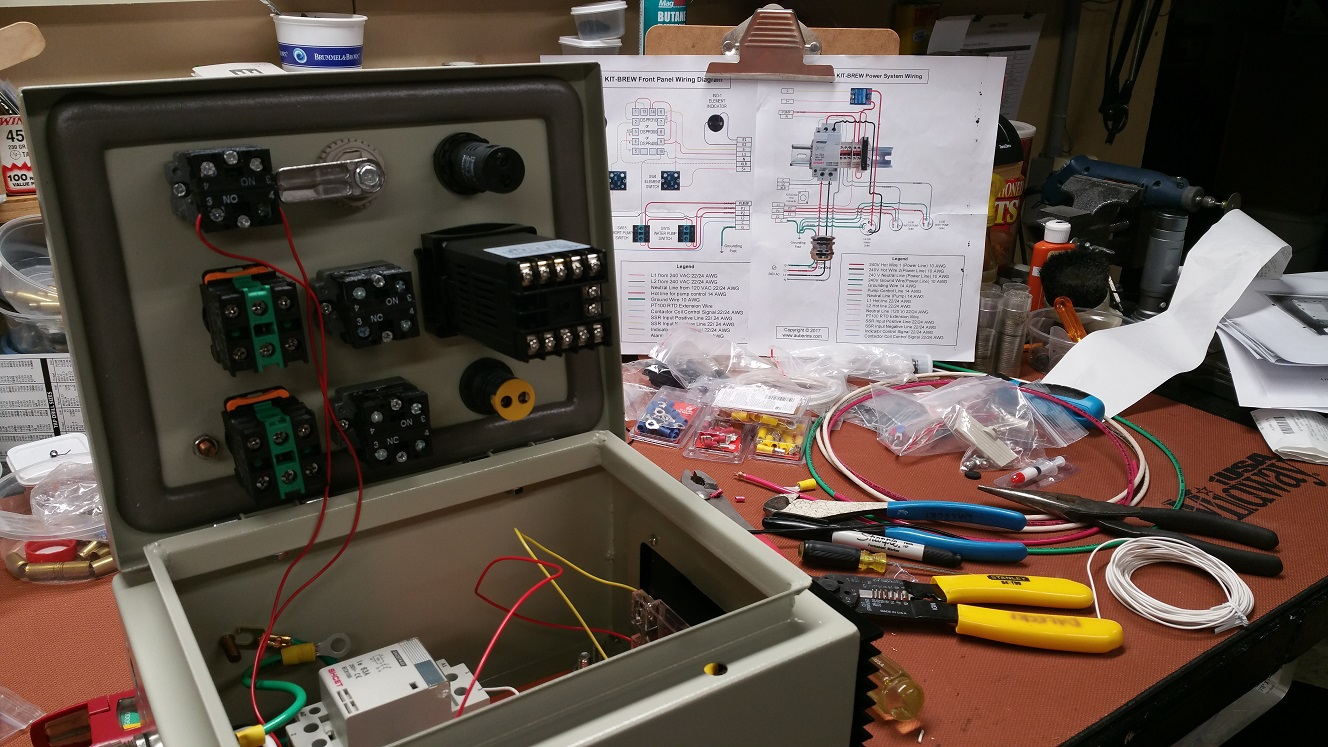Homebrew Control Panel Wiring Diagram Online Wiring Diagram