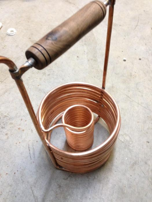 DIY immersion wort chiller and pre