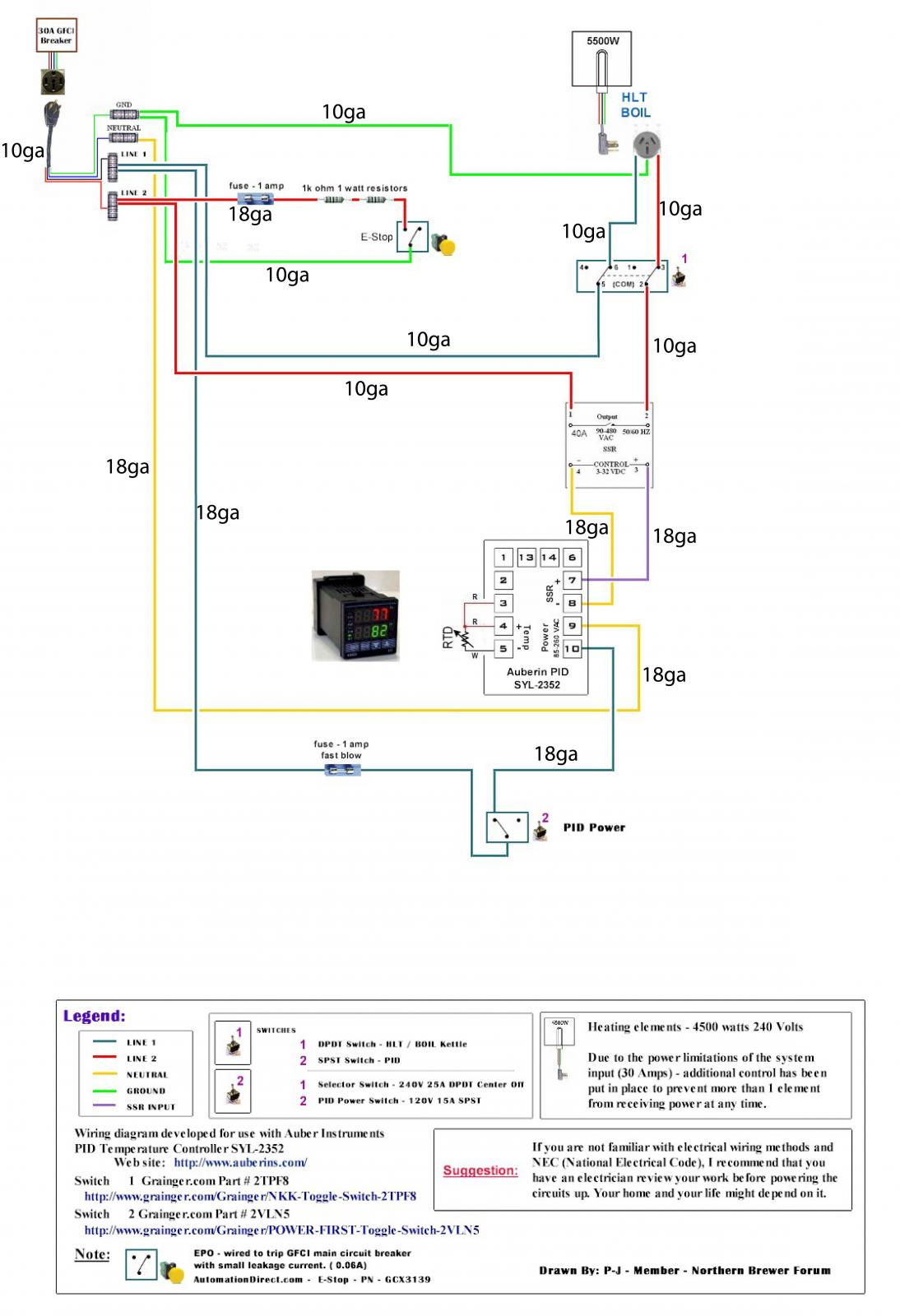 Pid Wiring Diagram 110v Switch Library Heat Rtd Thermocouple To Xlr Connector Help Homebrewtalk