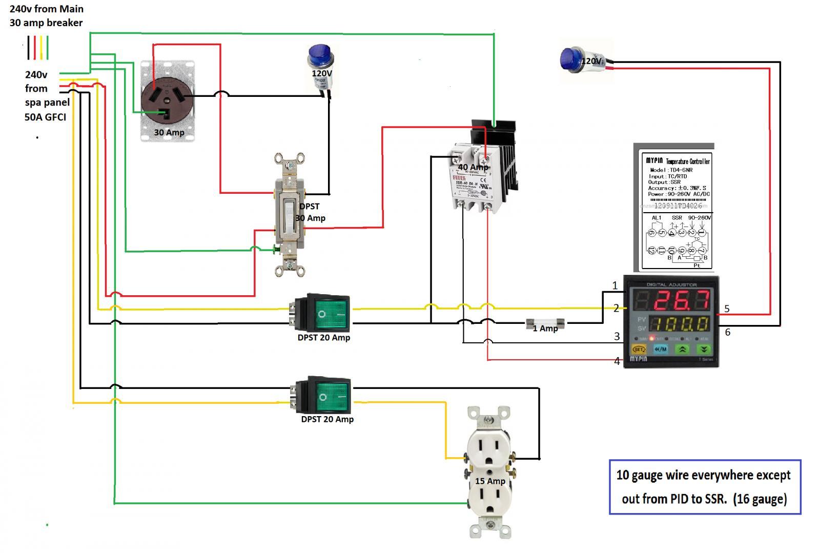 Exploded Ssr Loud Pop Please Help Beer Td4 Snr Controller Wiring Diagram Hlt